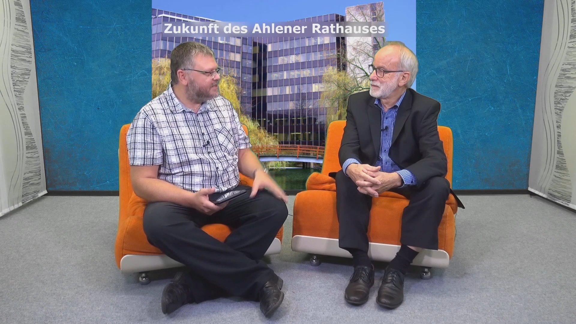Alfred Thiemann im Interview von AhlenTV