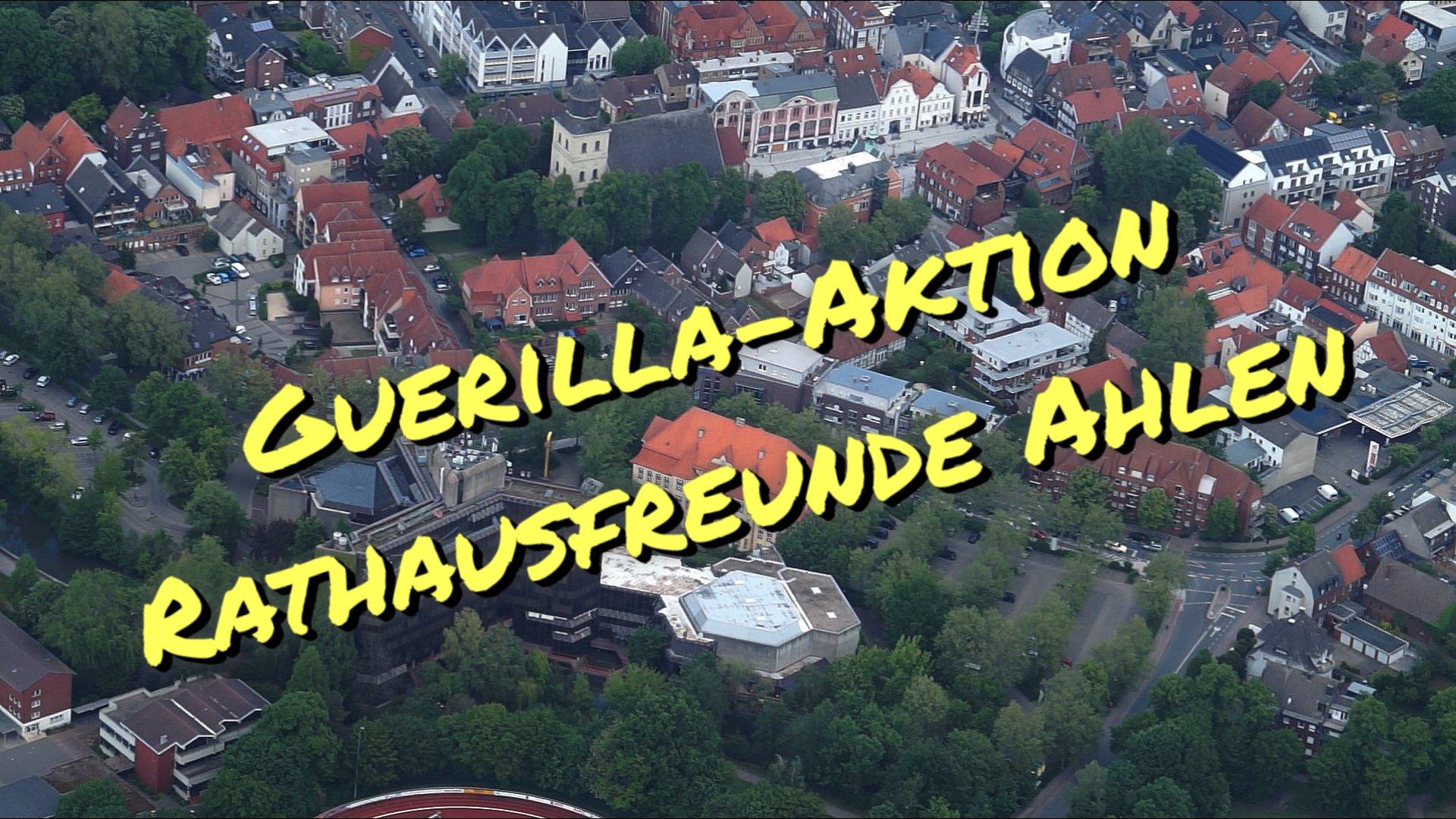 Guerilla-Aktion Rathaus